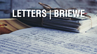 Photo of E. Letters | Briewe