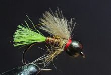 Photo of CHASING WINTER TROUT IN OUR RIVERS #10 – CDC Green Tag Nymph