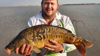 Photo of Johann Homan vang groot vis!